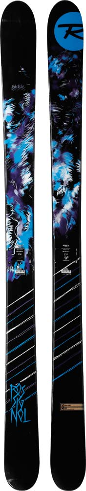 Topsheets of 2012 Rossignol Sickle Skis For Sale