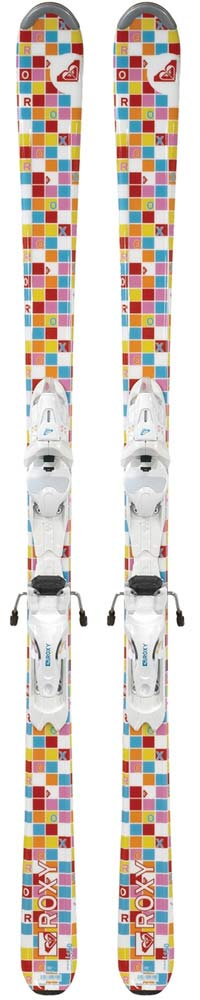 Topsheets of 2009 Roxy Girl Wonder Skis For Sale