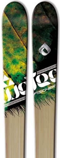 2012 Fischer Watea 98 Skis in 166cm For Sale
