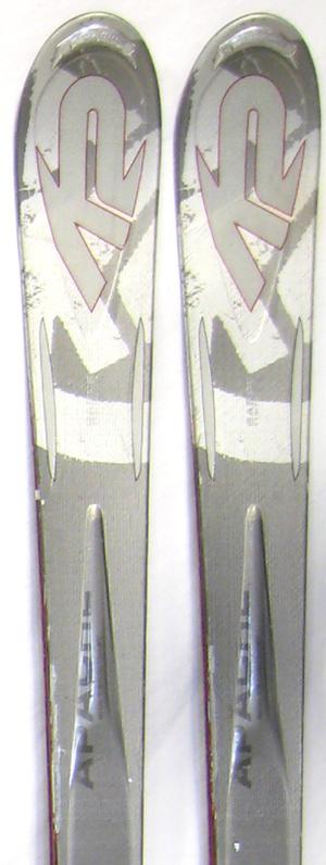 demo 2008 K2 Apache Sabre Skis in 160cm For Sale