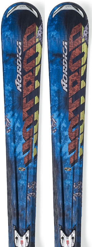 2011 Nordica Hot Rod Igniter Ca Skis in 162cm For Sale