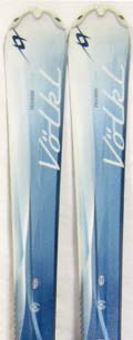 2011 Volkl Attiva Oceana Skis in 141cm For Sale